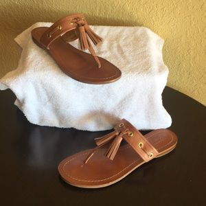 Coach Sheena Tasseled Sandals Sz 8 B